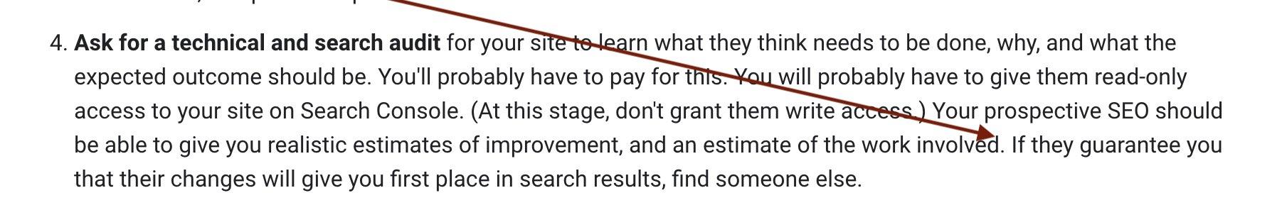 ranking guarantees on google are fake