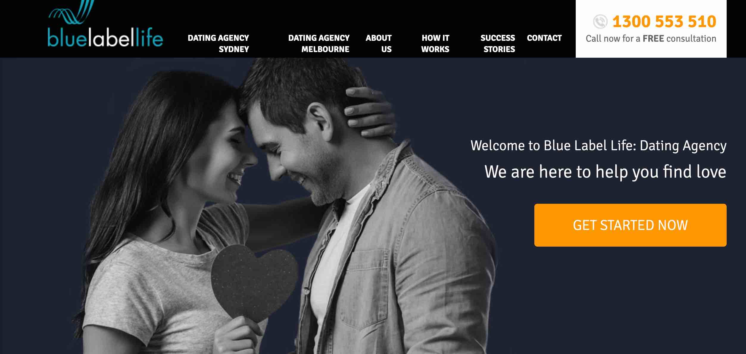 blue label life dating agency case study