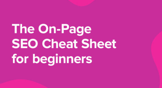 on page seo cheat sheet for beginners