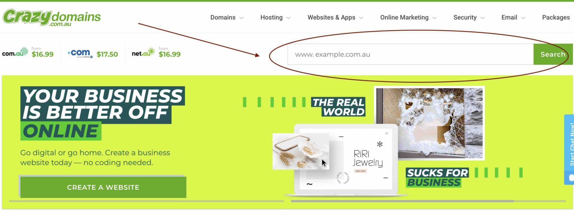 domain name registration - seo sydney experts
