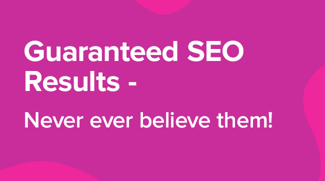 guaranteed seo results